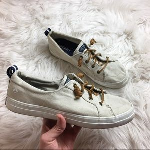 Sperry | Sand Pier View Canvas Sneaker  | 9